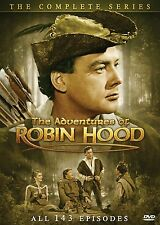 The Adventures of Robin Hood Complete Series DVD SET TV Episode Lot Seasons Show