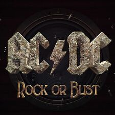 AC/DC - ROCK OR BUST - LP VINYL NEW SEALED 2014 + CD