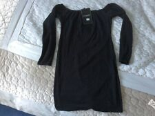 BNWT black mini dress from Missguided size 10