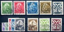 UNGARN 1933 502-510,484-487 gest TADELLOS 280€(Z1943