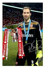 PETR CECH - ARSENAL AUTOGRAPHED SIGNED A4 PP POSTER PHOTO 2