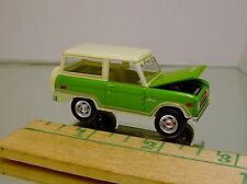 GL 1974 FORD BRONCO RANGER 4X4 DIECAST REPLICA WITH RUBBER TIRES LIMITED EDITION