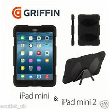 Griffin Survivor Tough Rugged Case For iPad Mini 1 2 3 - Black BRAND NEW