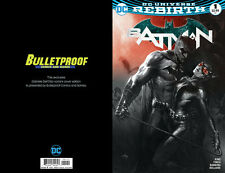 Batman #1 B&W (V.3) Dell'Otto Bulletproof! NM BUY FROM THE SOURCE! DC Rebirth!