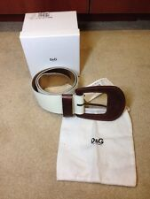 100% authentic D&G Dolce & Gabbana Belt   new L 34 / 85