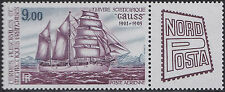 TAAF PA N°85** Bateau, voilier, 1984 FSAT Sailling ship MNH
