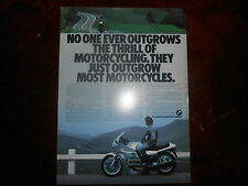 BMW OEM Dealer Brochure 1985 K100 RS RT R80 GS