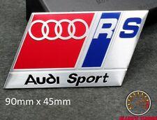 AUDI RS SPORT EMBLEM SCHRIFTZUG (BU) A3 A4 S4 S3 Quattro RS TT S LINE A5 A6 DTM