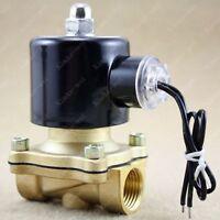 """12V 1/2"""" Elektro Magnetventil Ventil f. Wasser Luft Gas"""