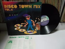 DISCO TOWN MIX VOL.4 Various -Vanessa.Anna.Evans & Fisher.. KOREA LP Italo Disco