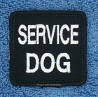 SERVICE DOG PATCH FOR SMALL VEST 2X2 INCH Danny & LuAnns Embroidery   assistance