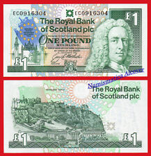 ROYAL BANK OF SCOTLAND 1 Pound Libra 1992 Commemorative Pick 356 SC / UNC