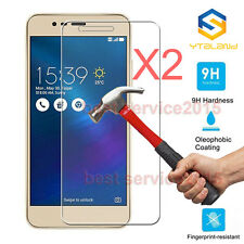 2Pcs 9H Tempered Glass Film Screen Protector For Asus Zenfone 3 Max ZC520TL 5.2""