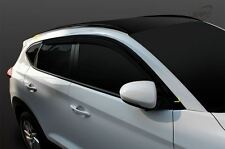 New Smoke Window Sun Visors Rain Guard Vent Shield for Hyundai Tucson 2016