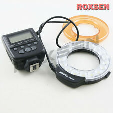 Meike FC-110 LED Macro Ring Flash Light FC110 for Canon EOS 650D Nikon D600 D750