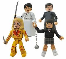 Mini Action Figures Kill Bill 10th Anniversary Minimates Box Set Tarantino Film