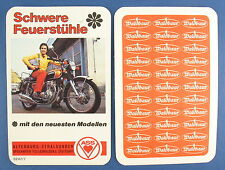 Quartett - Schwere Feuerstühle - Waldbaur Werbequartett - ASS 3247/7 - Motorrad