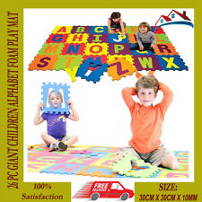26 PC GIANT CHILDREN ALPHABET FOAM PLAY MAT JIGSAW KIDS GAME FLOOR MATS NEW