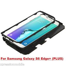 For Samsung GALAXY S6 EDGE + Plus Hybrid ShockProof Rubber Hard Case C