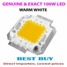 100W High power Bright 100 Watt SMD LED Diode Bulb Light Warm White Brand new
