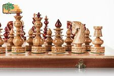 Bizant Large 60cm / 24.6in Beautiful Handcrafted Wooden Chess Set