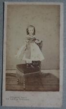 Photo Cdv Petite Fille Par Collard Paris Vers 1855/60