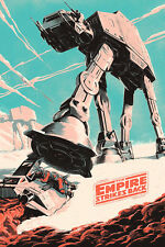 Star Wars The Empire Strikes Back Fan Art Print Silk POSTER 24x36