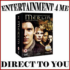 MERLIN - COMPLETE COLLECTION - SEASONS 1 2 3 4 & 5 **BRAND NEW DVD BOXSET *