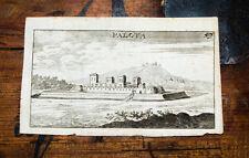 c1680 Ungarn Hungary Varpalota Kupferstich-Gesamtansicht Birken