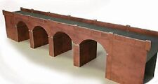 Metcalfe PO240 Red Brick Viaduct (00 Gauge) Railway Model Kit