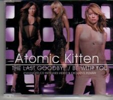 (CT28) Atomic Kitten, The Last Goodbye/Be With You - 2002 CD