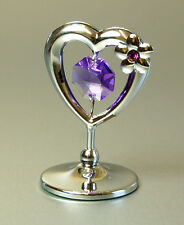 Crystocraft Mini Heart with Swarovski Crystal