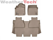 WeatherTech Floor Mats FloorLiner for Toyota Tundra CrewMax - 2014-2017 - Tan