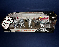 Star Wars: Battlefront II CLONE PACK Action Figure Set Hasbro 2007 PX Exclusive