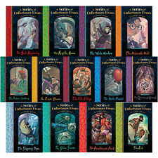 A Series of Unfortunate Events Collection Lemony Snicket 13 Books Set PB English