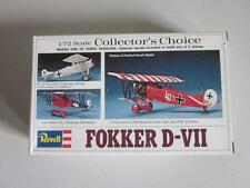 Vintage 1:72 Revell Collector's Choice FOKKER D-VII Airplane Complete
