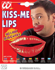 New Giant Fake Lips Novelty Kiss Me Surgery Fancy Dress Big Fish Hollywood
