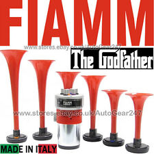 Fiamm 12v Car Van The Godfather Tune Musical Trumpet Air Horn Kit Made In Italy