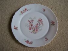 "Arcopal France 10"" Pink Blossoms Dinner Plate"