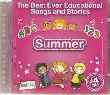 THE BEST EVER EDUCATIONAL SONGS & STORIES PERSONALISED CD - SUMMER - ABC 4 ME