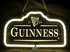 neon-0001 Guinness (Pattern 1) Beer Hub Bar Home Decor Advertising Neon Sign