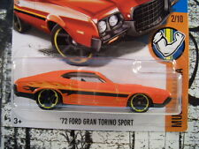 '16 HOT WHEELS 1972 FORD GRAN TORINO SPORT NEW IN BOX MUSCLE MANIA SERIES