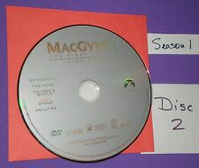 Replacement Disc # 2 Only MacGyver First Season Just This Disc Not Series Set