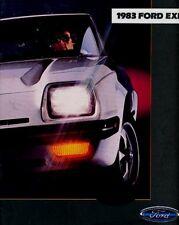 1983 Ford EXP Sport 14-page Original Car Dealer Sales Brochure Catalog