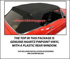 FORD MUSTANG CONVERTIBLE TOP-DO IT YOURSELF PACKAGE 1967-1968