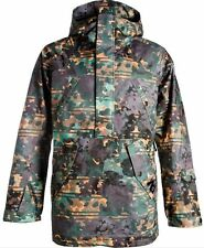 NEW ANALOG AERATOR ANORAK SNOWBOARD JACKET MENS M EU 50 WATERCAMO PRINT burton