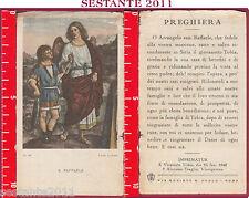2728 SANTINO HOLY CARD S. SAN RAFFAELE ARCANGELO PIA SOCIETà PAOLO N. 85 ALINARI
