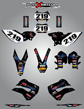 Husaberg FE 390, 450, 570, TE 250, 300, FX 450, FS 570 2009-2012 BARBED stickers