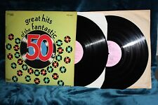 "Various "" Great Hits of the Fantastic 50's vol.1"" Double Album."