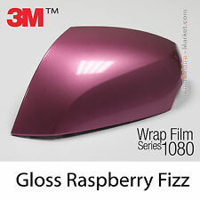 20x30cm FILM Gloss Raspberry Fizz 3M 1080 G323 Vinyle COVERING Series Car Wrap